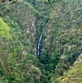 Waterfall In The Intag 4 by Teresa Stallings