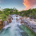 Waterfall In The Texas Hill Country 3 by Rob Greebon