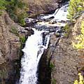 Waterfall In Yellowstone by La Dolce Vita