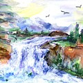 Waterfall by Lila Van Pelt