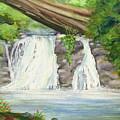 Waterfall by Lorrisa Dussault