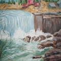 Waterfall Lw by Joseph Sandora Jr