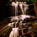 Waterfall Mcconnells Mills State Park by Lisa Wooten