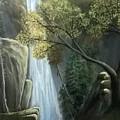 Waterfall by Muniba Urooj