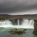 Waterfall Of The Gods Panorama  by Michael Ver Sprill