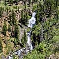 Waterfall On Lava Creek 2 by John Trommer