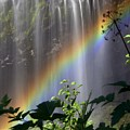 Waterfall Rainbow by Marty Koch