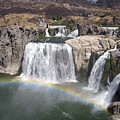 Waterfall Rainbow by Ty Nichols