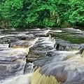 Waterfall, Richmond Yorkshire by Martyn Arnold