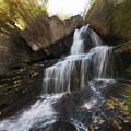Maine Waterfall by Glenn Gordon