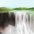 Waterfall Study 1 by James Leonard