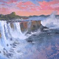 Waterfall Study by Curt Curt