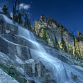 Waterfall Trail by Leland D Howard