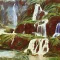 Waterfall by Wahyu Nurcahyo