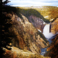 Waterfall Yellowstone 2 by Jo-Anne Gazo-McKim