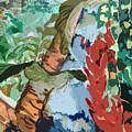 Waterfalling Jungle by Mindy Newman
