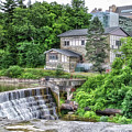 Waterfalls Cornell University Ithaca New York 04 by Thomas Woolworth