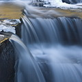 Waterfalls In Blue And Gold by Jim Dohms