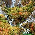 Waterfalls In Plitvice Lakes National Park by Artur Bogacki