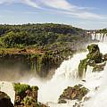 Waterfalls On Iguazu River by Mirko Chianucci