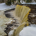 Waterfalls Upper Tahquamenon -6049 Pure Michigan by Norris Seward