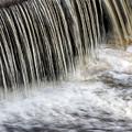 Waterflow Waterfall On A Small Creek by Alex Grichenko
