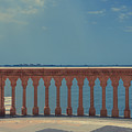 Waterfront Balcony Ringling Ca D Zan The Last Of The Gilded Mansions by Edward Fielding