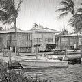 Waterfront Cottages At Parmer's Resort In Keys by Ginger Wakem