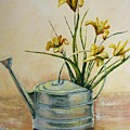 Watering Can by Marilyn Smith