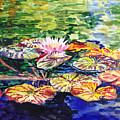Waterlilies Impressionism by Irina Sztukowski