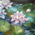Waterlilies by Lois Mountz