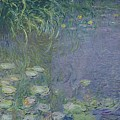 Waterlilies Morning by Claude Monet