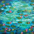Waterlillies by Garth Gerard