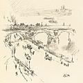 Waterloo Bridge by James Mcneill Whistler