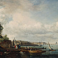 Waterloo Bridge by John Constable