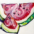 Watermelon by Jan Bennicoff