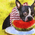 Watermelon Lunch by Eric Chegwin