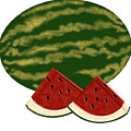 Watermelon Time by Melissa Stinson-Borg
