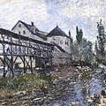 Watermill Near Moret by Celestial Images