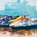 Waterskis  by Joe LeGrand