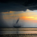 Waterspout Panoramic by David Lee Thompson