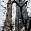 Watertower Chicago by JoAnn Silva