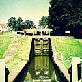 10945 Watford Locks On The Grand Union Canal by Colin Hunt