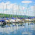Glen Harbour Marina by Anna Serebryanik
