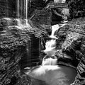 Watkins Glen Rainbow Falls #2 by Stephen Stookey