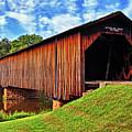 Watson Mill Covered Bridge 040 by George Bostian