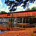 Watson Mill Covered Bridge 042 by George Bostian