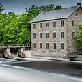 Watson's Mill In Spring by Miles Whittingham