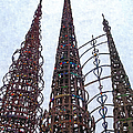 Watts Towers 2 - Los Angeles by Glenn McCarthy Art and Photography