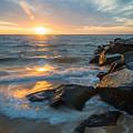 Wave Break by Kristopher Schoenleber
